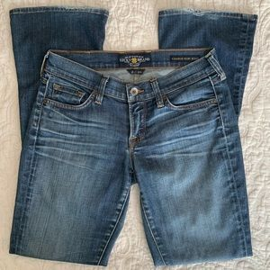 Lucky Brand Charlie Baby Boot Cut Blue Jeans